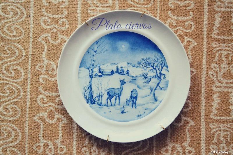 objetos vintagenavideños, navidad, navideños, decorar, decoracion navidad, Hutschenreuther Tavola