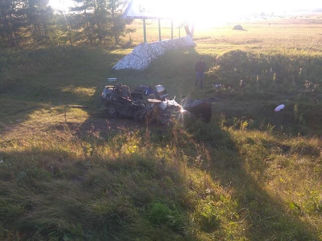 При столкновении Шевроле Круз и ВАЗ-2110 погиб человек