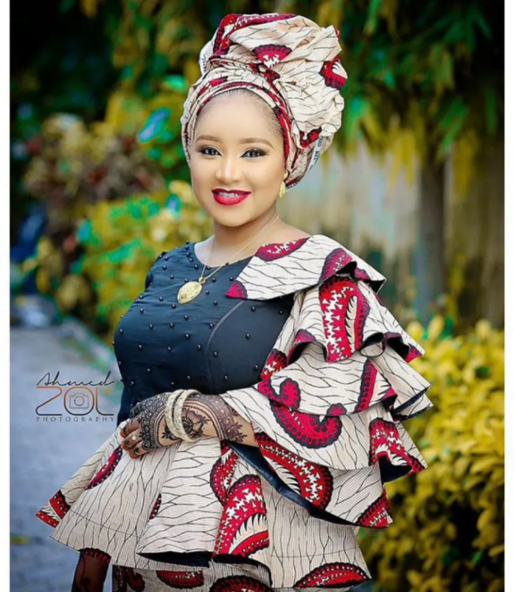 Hausa Ankara Fabrics Styles To Spark Friends