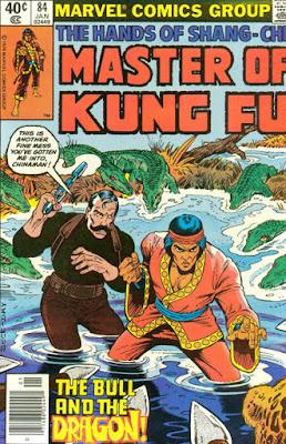 Master of Kung-Fu #84, alligators