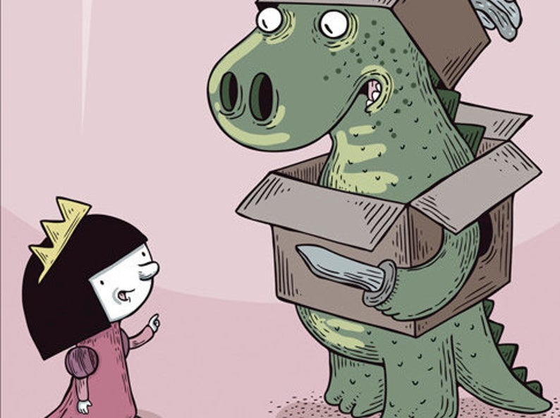 detalhe de Laura & Dino