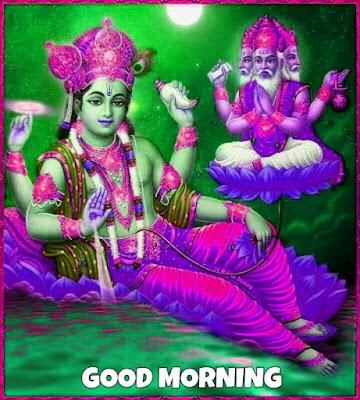lord vishnu good morning images hd