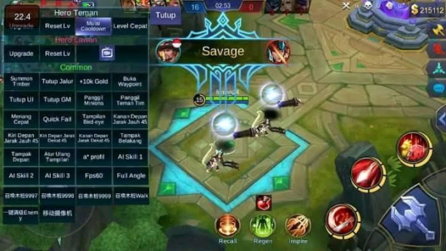 download game mobile legend mod unlimited diamond