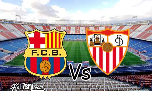 تأهل برشلونة.. تعرف علي  نتيجة مباراة برشلونة واشبيلية اليوم 30-1-2019 في كأس ملك إسبانيا