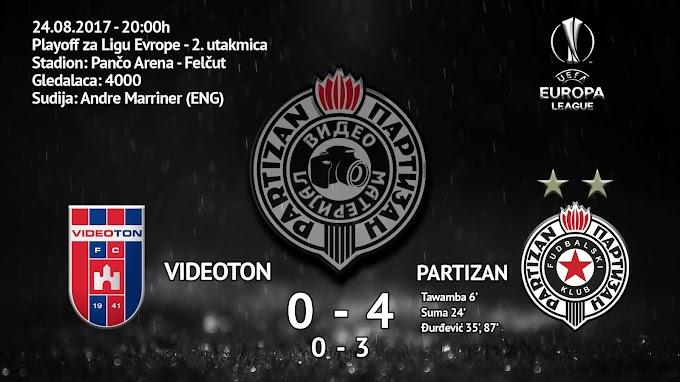 Partizan protutnjao Mađarskom!