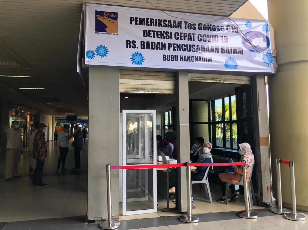 SAH! Batam Kini Bisa Lakukan Genose di Bandara Hang Nadim
