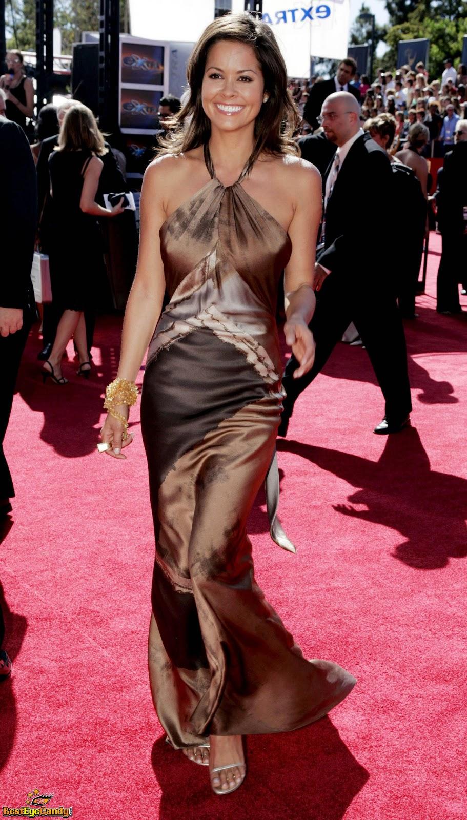 Ladies In Satin Blouses Brooke Burke Various Satin Dresses