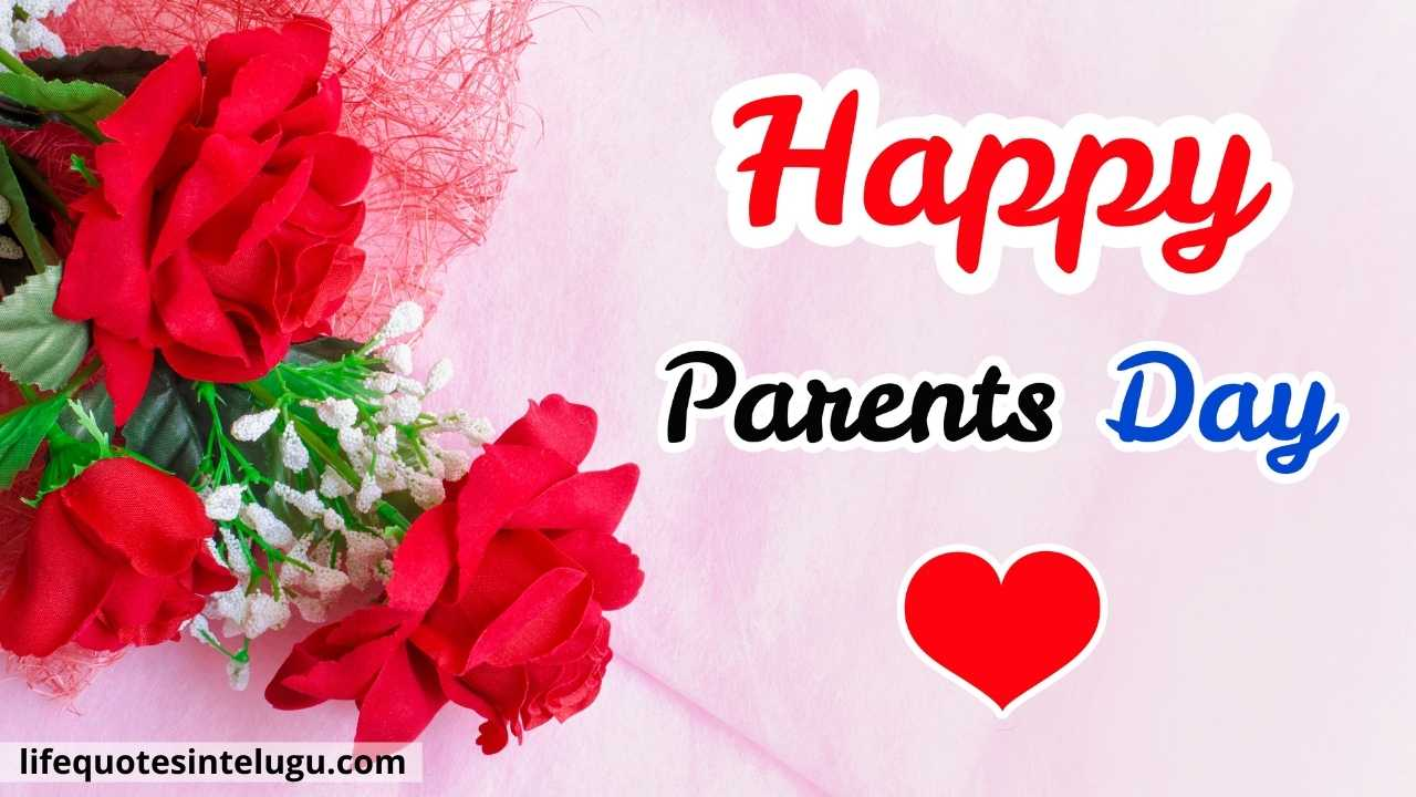 Happy Parents Day Wishes In Telugu