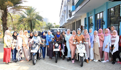 Fitur New Yamaha Fino 125 Blue Core bersama Komunitas Hijab