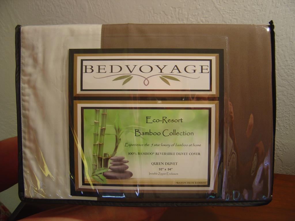 BedVoyage Duvet Cover Packaged