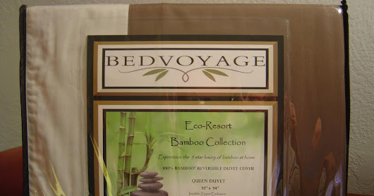 **WIN**BedVoyage Eco-Luxury Bamboo Queen Duvet Cover Review + ($179.99-$199.99) Giveaway!–Ends September 22, 2016