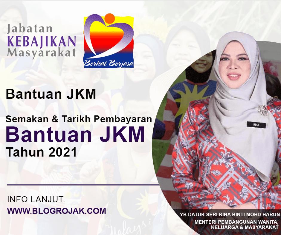 Bagi anda yang tertanya-tanya bilakah bantuan JKM akan dikreditkan ke akaun, berikut dikongsikan bantuan JKM yang tersedia dan boleh dimohon dan bilakah akan dikreditkan pada setiap bulan.