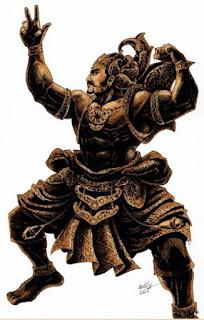 Wayang Kulit, Kisah Gatotkaca - Versi Jawa Kuna