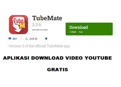 aplikasi Download video di Youtube tubemate