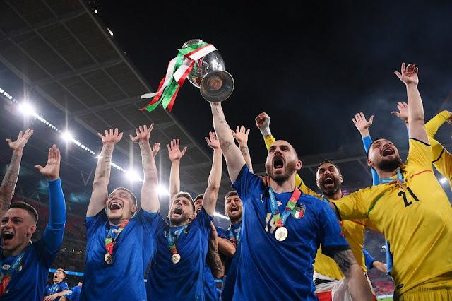 Италия - чемпион Европы