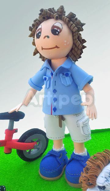Fofucho detalles camisa, pantalones y zapatillas