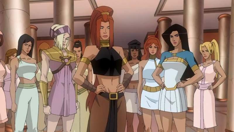 Amazon Warriors Themyscira