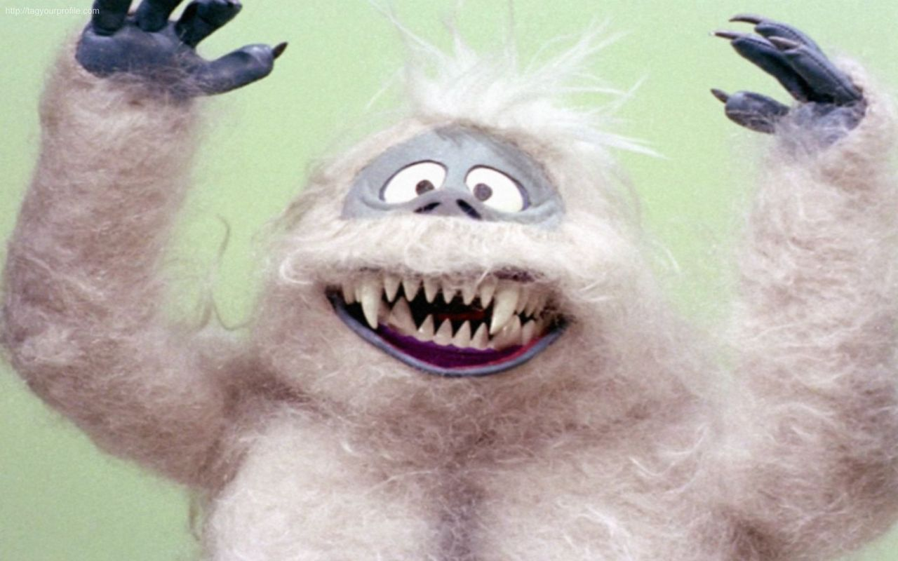 BUMBLE THE ABOMINABLE SNOW MONSTER Rudolph the Red Nosed ... |Rudolph The Red Nosed Reindeer Abominable Snow Monster