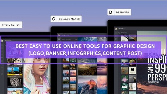 Best Online Tools for creating Logo,Banner,Social Media Post and Other Graphic Design work easily !!
