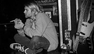 Kurt Cobain Converse Chucks - www.kaiserschnitt.blogspot.com