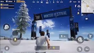 Pubg Snow Update in Erangle