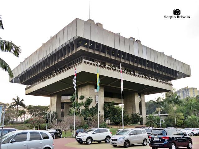 Vista ampla do Tribunal de Contas do Município de São Paulo - Vila Clementino - São Paulo