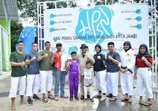 Maulana Hadiri HPSN di Taman Remaja Kota Jambi