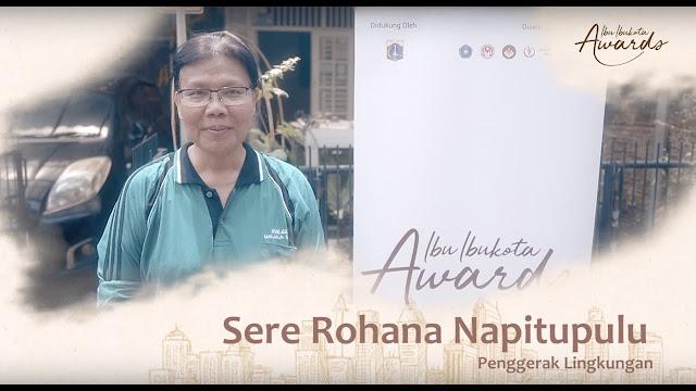 Sere Rohana, Penggiat Lingkungan dari Duren Sawit Raih Ibukota Awards 2019