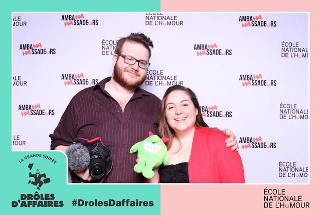 #DrolesDaffaires - Une soirée fusionnant l'humour au monde des affaires