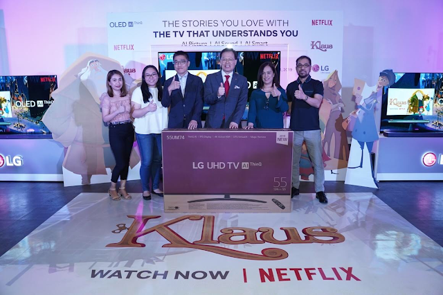 Patty Villegas - The Lifestyle Wanderer - LG Philippines - Klaus - Netflix - Shelter of Hope