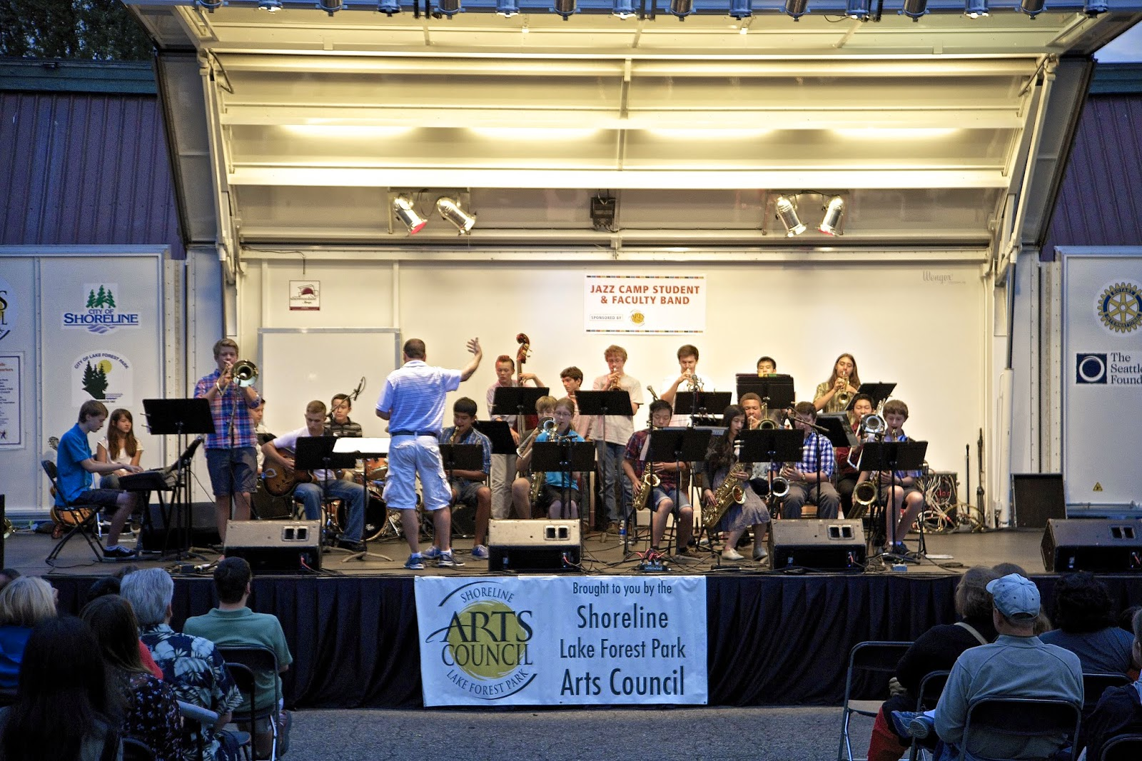 Shoreline area news make the most of summer with the art for Interno 1 jazz council