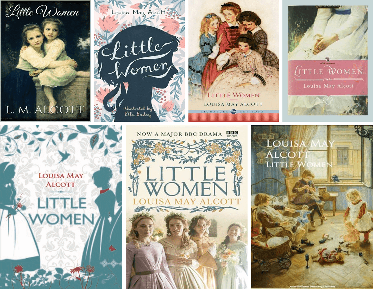 Little Women Book, Louisa May Alcott