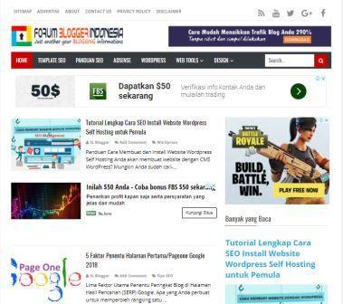 Pengertian Website, Blog , Jenis dan Manfaatnya