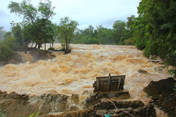 Catarata Khone Phapheng (Si Phan Don, Laos)