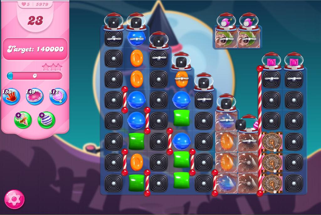 Candy Crush Saga level 5979