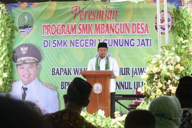 Wagub Jabar Resmikan SMK Negeri 1 Gunung Jati Menjadi  SMK Membangun Desa