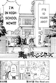Read Tokyo Revengers Manga Chapter 207 English