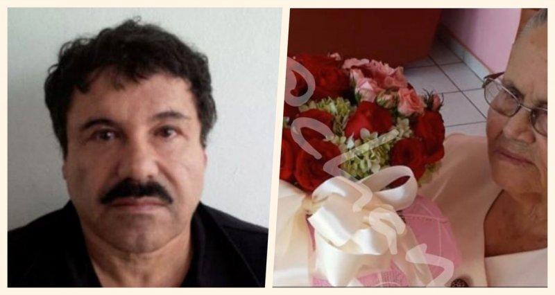 """Desde la CÁRCEL en EU, """"El Chapo"""" le mandó un LUJOSO ramo de rosas a su mamá"""
