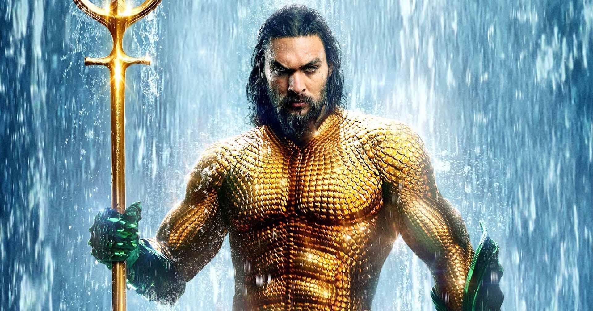 'Aquaman 2': Jason Momoa revela o novo traje do herói