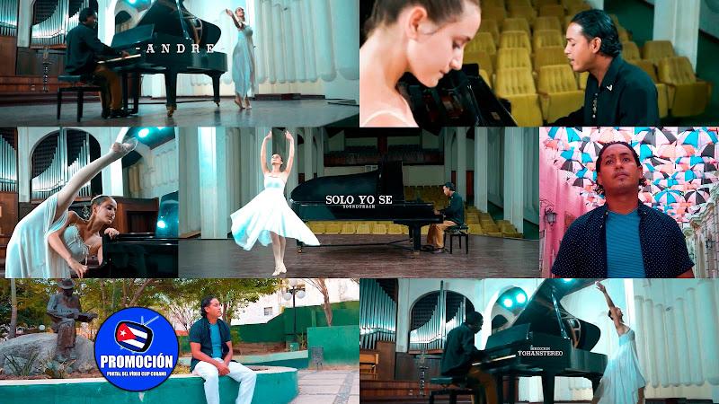 Andre - ¨Solo yo sé¨ - Videoclip - Director: YohanStereo. Portal Del Vídeo Clip Cubano. Música romántica cubana. Canción. Piano. Cuba.
