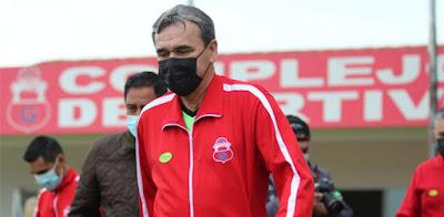 Víctor Hugo Antelo, DT de Guabirá. (Foto: Club Guabirá)