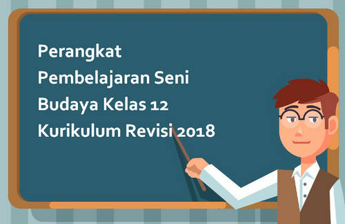 Perangkat Pembelajaran Seni Budaya Kelas 12 Kurikulum Revisi 2018