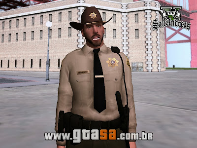 Pack Skins da Policia do GTA V para GTA San Andreas