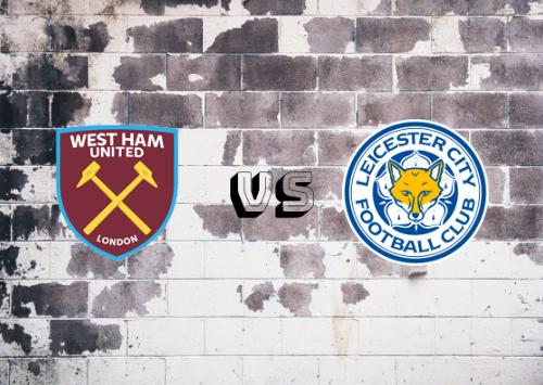 West Ham United vs Leicester City  Resumen y Partido Completo