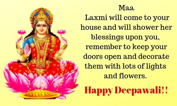 Happy Diwali 2019 Wishes Quotes SMS For WhatsApp or Facebook