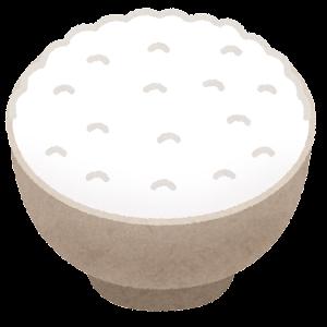 ご飯のイラスト(大盛り)
