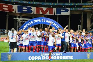 Bahia bate o Sport e é campeão da Copa do Nordeste após 15 anos