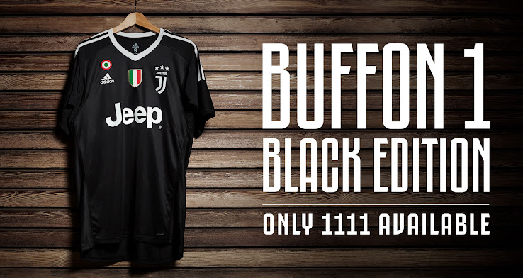 more photos dddbd d2a98 Special Limited Edition Juventus Buffon 1 'Black Edition ...