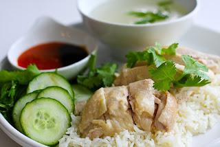 resep nasi ayam singapura