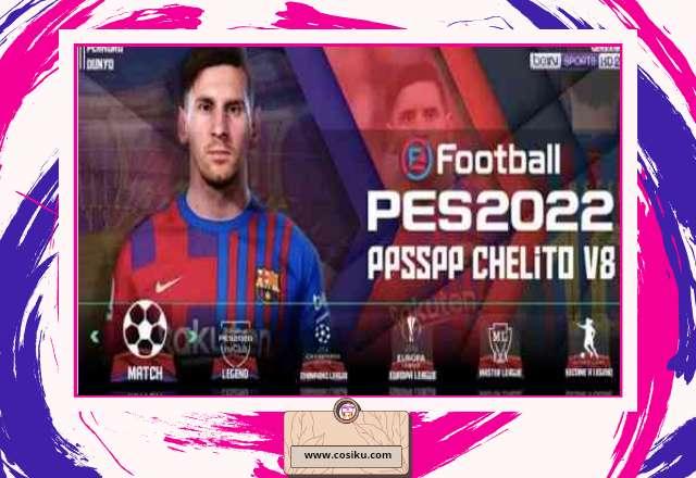 PES 2022 PPSSPP NEW UPDATE Bursa Transfer Pemain & Camera PS 5 Original